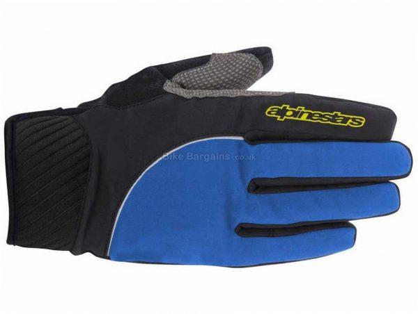 Alpinestars Nimbus Waterproof Gloves S, Blue, Black, Men's, Full Finger, Polyamide, Synthetic Leather, Neoprene, Polyester