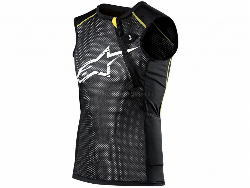 Alpinestars Paragon MTB Vest Body Protector XXL, Black, Yellow, 420g, Polyester