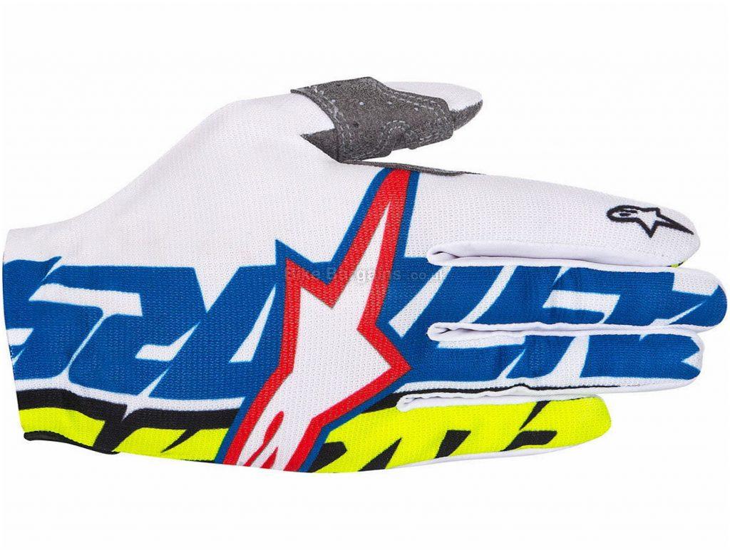 Alpinestars Rover Gloves S,XL,XXL,XXXL, some are slightly extra, Black, White, Red, Blue, Green, Orange, Yellow, Men's, Full Finger, Polyester, Synthetic Leather, Elastane