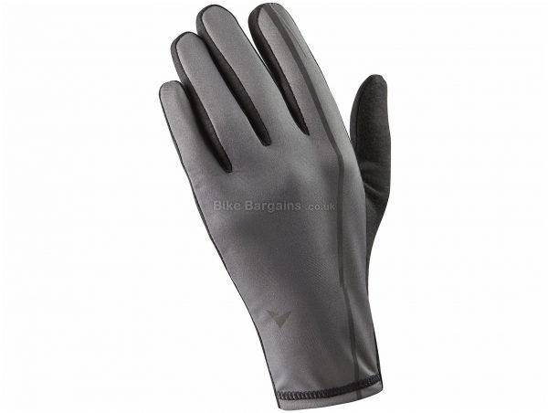 Altura Merino Softshell Gloves M,XXL, Grey, Black, Men's, Full Finger, Polyester, Wool