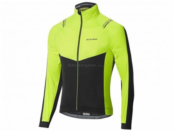 Altura Podium Elite Waterproof Jacket S, Yellow, Black, Men's, Long Sleeve, Polyester