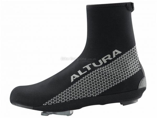 Altura Thermostretch 3 Overshoes 2018 S, Black, Unisex, Zip, Velcro, Neoprene
