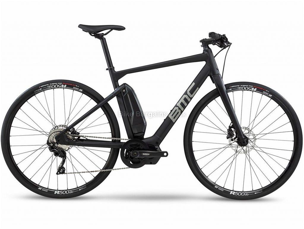 BMC Alpenchallenge AMP Sport Two Alloy Electric City Bike 2020 S, Black, Alloy Frame, 700c Wheels, Disc Brakes, Single Chainring, Men's, 11 Speed