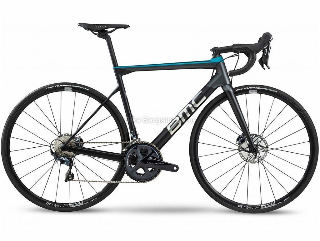 BMC Teammachine SLR02 Disc Three Carbon Road Bike 2020 54cm, 56cm, Black, Blue, Carbon Frame, 700c Wheels, Disc Brakes, Double Chainring, Men's, 22 Speed