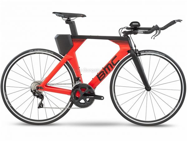 BMC Timemachine 02 Two Carbon Triathlon Bike 2020 S, Red, Black - M,L are extra, Carbon Frame, 700c Wheels, Caliper Brakes, Double Chainring, Men's, 22 Speed