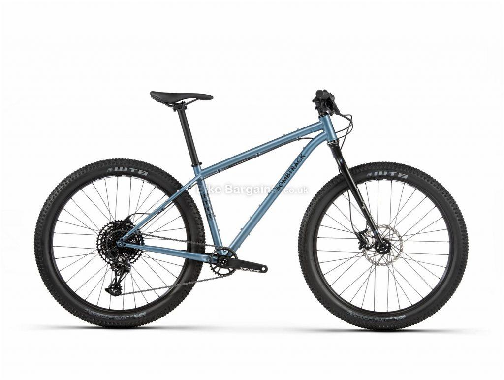 "Bombtrack Beyond+ 27.5 Steel Mountain Bike 2020 L, Blue, Black, Steel Frame, 27.5"" Wheels, Disc Brakes, Single Chainring, Men's, 12 Speed, 13.8kg"
