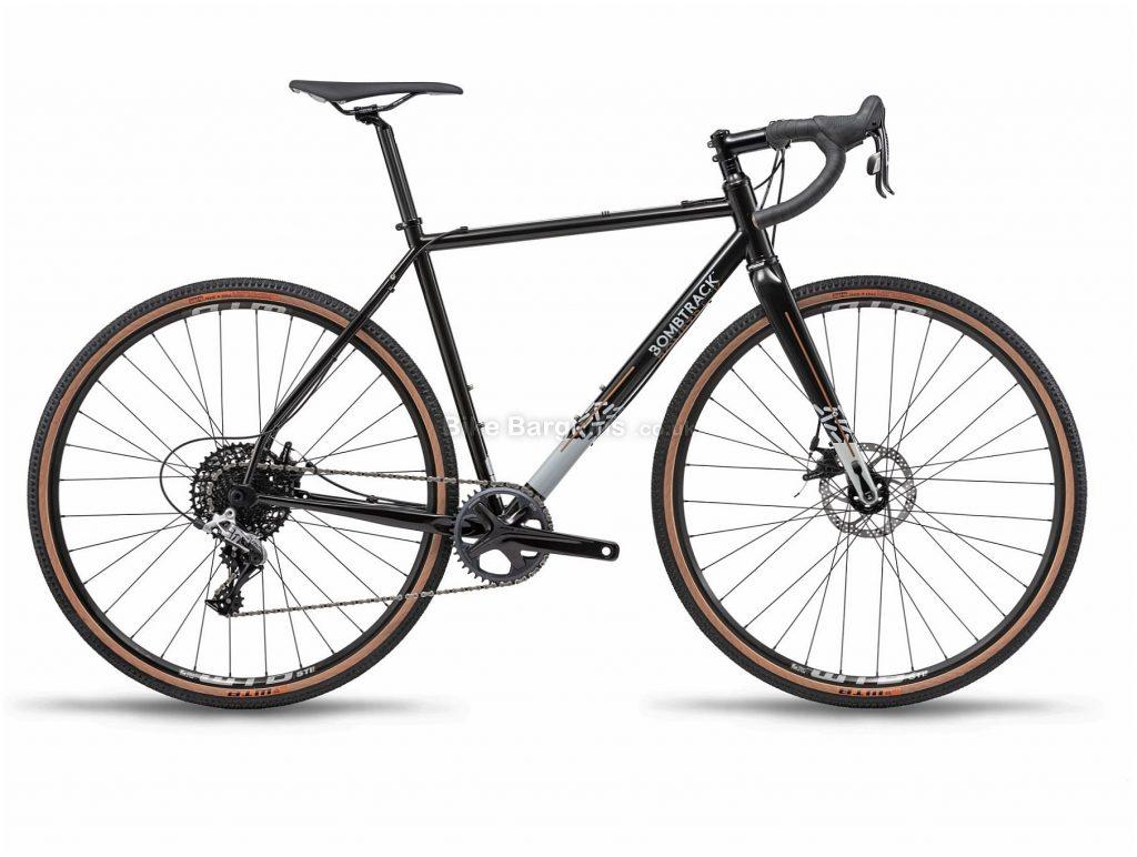 Bombtrack Hook 2 Steel All Road Gravel Bike 2019 XL, Black, Grey, Steel Frame, 700c Wheels, Disc Brakes, Single Chainring, Men's, 11 Speed, 10.3kg
