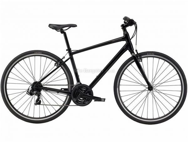 Cannondale Quick 6 Sports Alloy City Bike 2021 S, Black, Alloy Frame, 21 Speed, Caliper Brakes, 700c Wheels, Triple Chainring