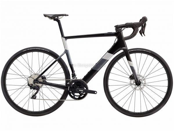 Cannondale Supersix Evo Neo 3 Carbon Electric Road Bike 2020 L, Black, Carbon Frame, 700c Wheels, Disc Brakes, Double Chainring, Men's, 22 Speed