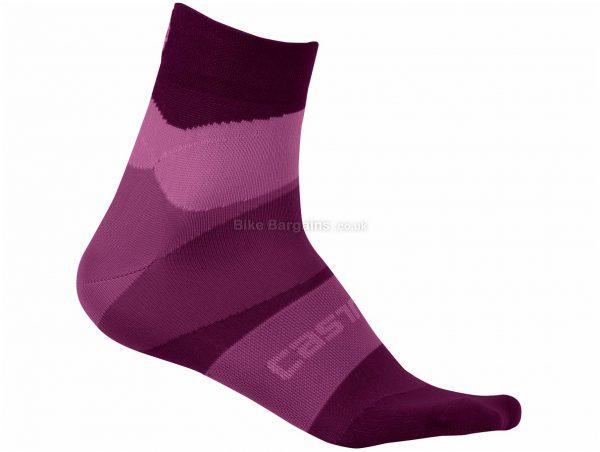 Castelli Ladies TR Socks L,XL, Blue, Ladies, Polyamide, Elastane