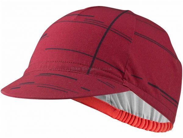 Castelli UPF Cap One Size, Black, Grey, Red, Unisex, Polyester, Elastane