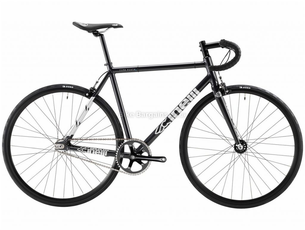Cinelli Tipo Pista Alloy Track Bike 2019 XS, Grey, Alloy Frame, Single Speed, Caliper Brakes, 700c Wheels, Single Chainring, 7.8kg