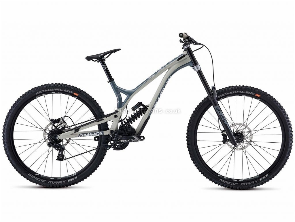 "Commencal Supreme DH 29 Race Alloy Full Suspension Mountain Bike 2020 M, Grey, Alloy Frame, 29"" Wheels, Full Suspension, Disc Brakes, Single Chainring, Men's, 7 Speed, 17.1kg"