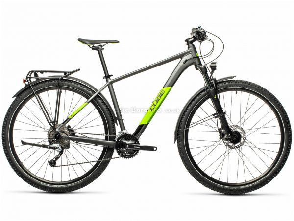 "Cube Aim SL 29 Alloy Hardtail Mountain Bike 2021 17"", Black, Orange, Alloy Frame, 27 Speed, Disc Brakes, 29"" Wheels, Triple Chainring, Hardtail, 14.4kg"