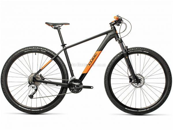 "Cube Aim SL 29 Allroad Alloy Hardtail Mountain Bike 2021 17"", Grey, Green, Alloy Frame, 27 Speed, Disc Brakes, 29"" Wheels, Triple Chainring, Hardtail, 16.7kg"