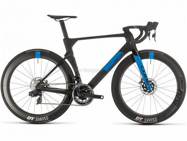 Cube Litening C:68X SLT Carbon Road Bike 2020 50cm,54cm,58cm, Black, Blue, Carbon Frame, 700c Wheels, Disc Brakes, Double Chainring, Men's, 24 Speed