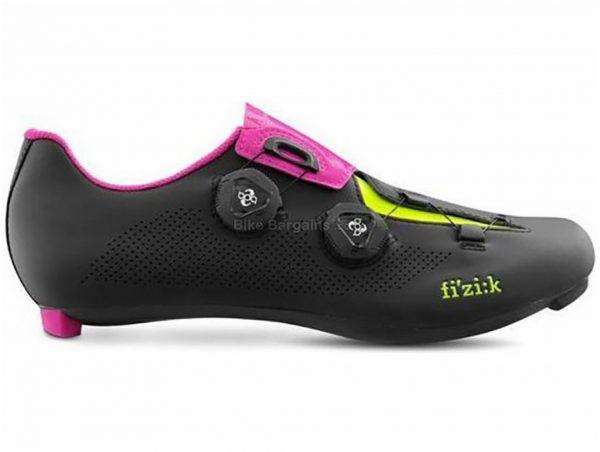 Fizik R3 Aria Road Shoes 37, Black, Pink, Men's, Boa, 235g, Carbon