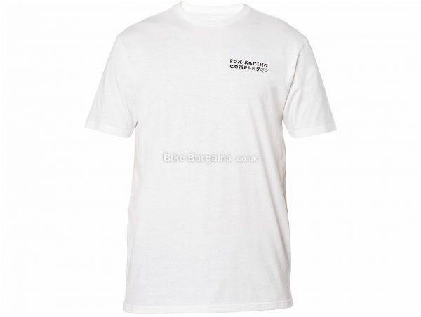 Fox Death Wish Premium T-Shirt S, Black, White, Men's, Short Sleeve, Cotton