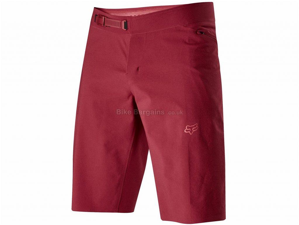 """Fox Rawtec Shorts 30"""", Red, Men's, Nylon, Spandex"""