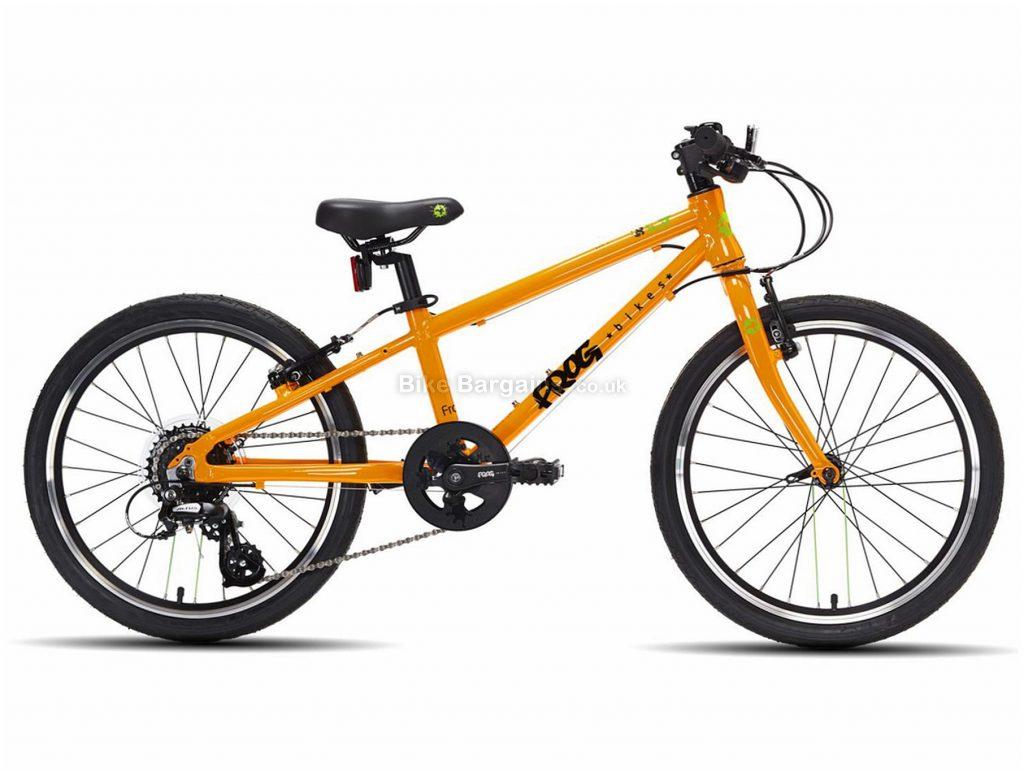 """Frog 52 Alloy Kids Bike 10"""", White, Green, 20"""" wheels, Alloy Frame, 8 Speed, Single Chainring, Caliper Brakes, 8.54kg"""