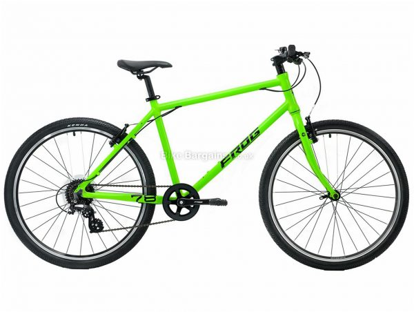 "Frog 78 Alloy Kids Bike One Size, Grey, Red, 26"" wheels, Alloy Frame, 8 Speed, Single Chainring, Caliper Brakes, 10kg"