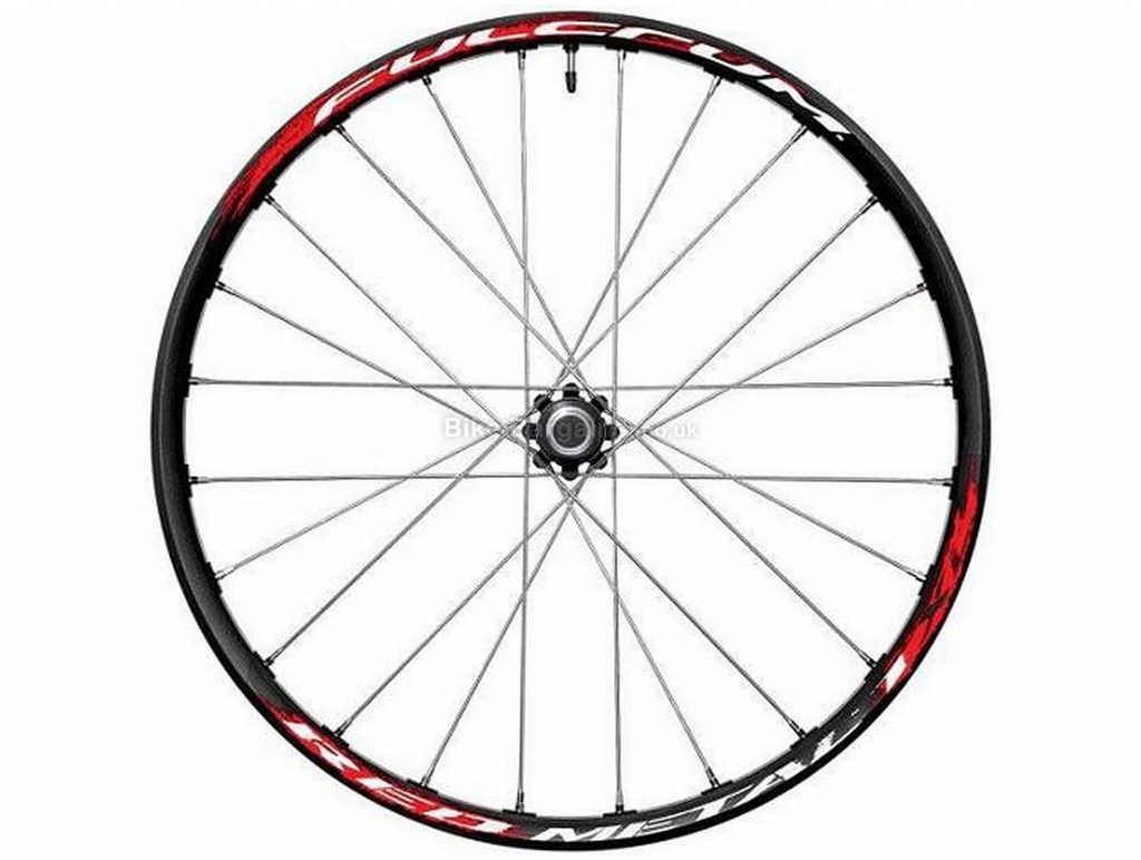 """Fulcrum Red Metal 1 HH Disc Front MTB Wheel 26"""", 110mm, Black, Red, Disc, Alloy"""