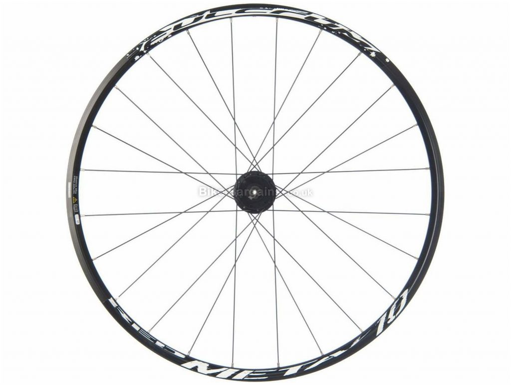 """Fulcrum Red Metal 10 Disc Front MTB Wheel 26"""", 100mm, QR, Front, Black, White, Disc, 876g, Alloy"""