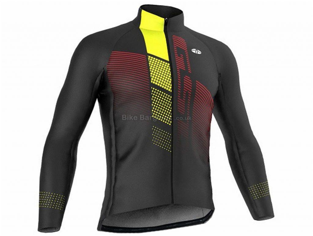 GSG Everest Pro Jacket M, Black, Yellow, Men's, Long Sleeve, 375g, Polyester
