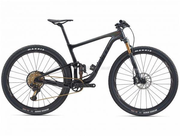 "Giant Anthem Advanced Pro 0 29er Carbon Full Suspension Mountain Bike 2020 S,XL, Black, Carbon Frame, 29"" Wheels, Full Suspension, Disc Brakes, Single Chainring, Men's, 12 Speed"