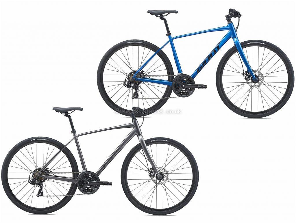 Giant Escape 3 Disc Sports Alloy City Bike 2021 L, Black, Alloy Frame, 21 Speed, Disc Brakes, 700c Wheels, Triple Chainring