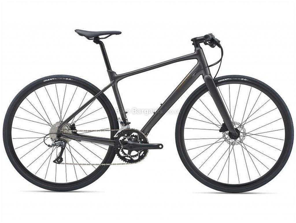 Giant Fastroad Sl 3 Sports Alloy City Bike 2021 M,L, Black, Alloy Frame, 16 Speed, Disc Brakes, 700c Wheels, Double Chainring