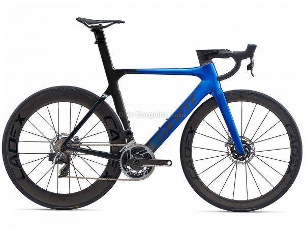 Giant Propel Advanced Sl 0 Disc Sram Red Etap Axs Carbon Road Bike 2020 S,M,L, Blue, Black, Carbon Frame, 700c Wheels, Disc Brakes, Double Chainring, Men's, 24 Speed
