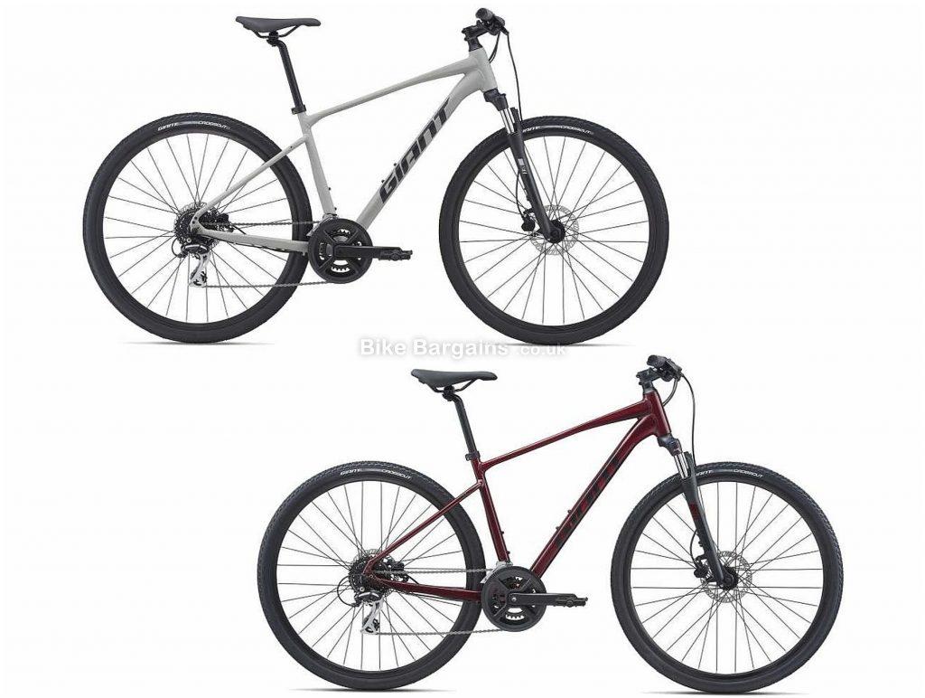 Giant Roam 3 Disc Sports Alloy City Bike 2021 M, Grey, Alloy Frame, 16 Speed, Disc Brakes, 700c Wheels, Double Chainring