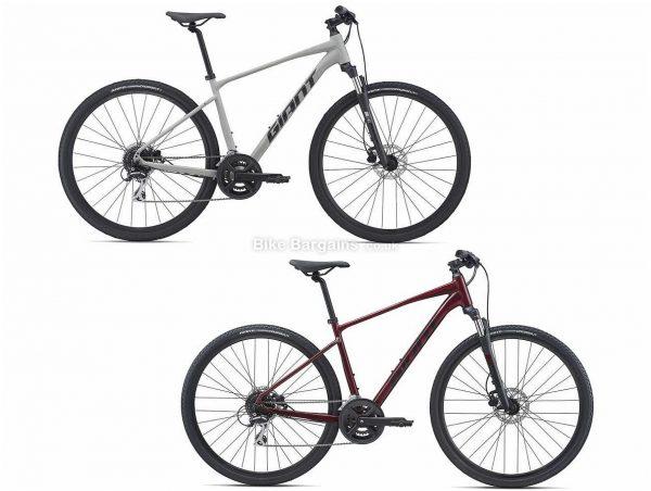 Giant Roam 3 Disc Sports Alloy City Bike 2021 XL, Grey, Alloy Frame, 16 Speed, Disc Brakes, 700c Wheels, Double Chainring