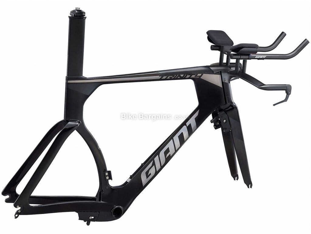 Giant Trinity Advanced Pro Carbon TT Road Frame 2020 L, Black, Grey, Carbon Frame, 700c Wheels, Caliper Brakes, Men's
