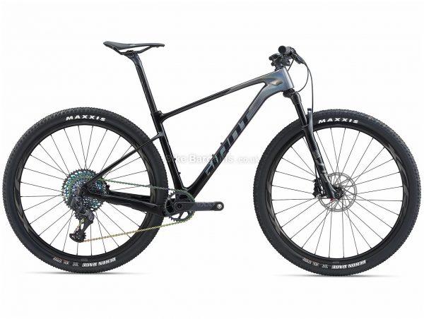 "Giant XTC Advanced Sl 0 29er Carbon Hardtail Mountain Bike 2020 XL, Grey, Black, Carbon Frame, 29"" Wheels, Hardtail, Suspension Forks, Disc Brakes, Single Chainring, Men's, 12 Speed"