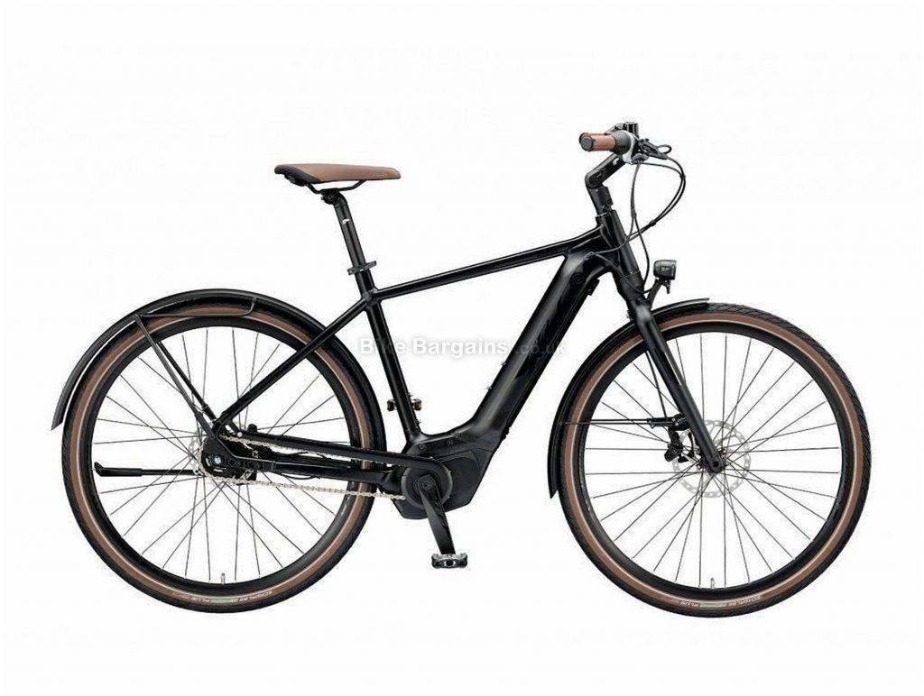 KTM Macina Gran 5 Chain LFC HE Alloy Electric City Bike 2019 51cm, Black, Alloy Frame, 700c Wheels, Disc Brakes, Single Chainring, Men's, 5 Speed