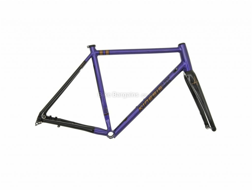 Kinesis Aithein Disc Alloy Road Frame 47cm, 50cm, 53cm, 56cm, 59cm, Purple, Black, Silver, 700c, Alloy Frame, Disc, Rigid
