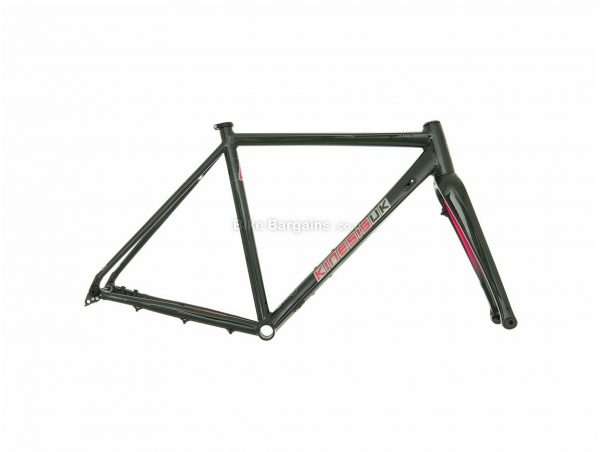 Kinesis CX Race Alloy Cyclocross Frame 48cm, 50cm, 52cm, Green, 700c, Alloy Frame, Disc, Rigid