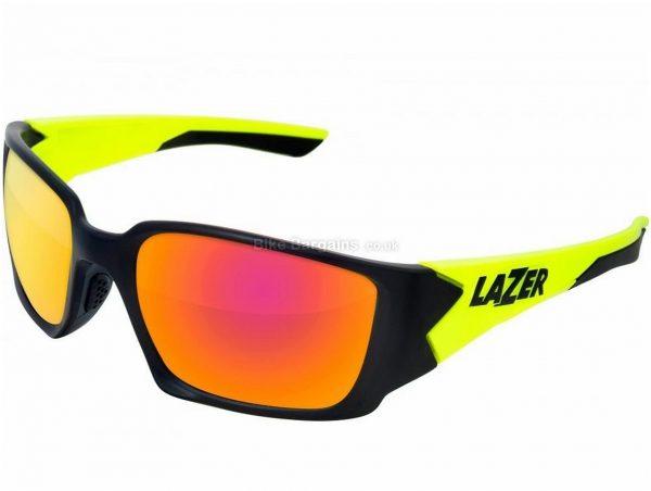 Lazer Krypton Triple Lens Glasses Black, Yellow, Red, 32g, Polycarbonate