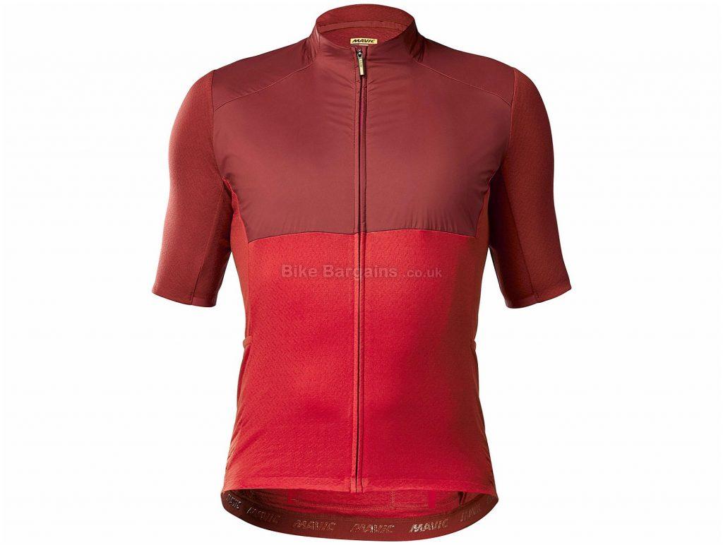 Mavic Allroad Wind Short Sleeve Jersey S, Blue, Men's, Short Sleeve, Polyester, Merino, Wool, Polyamide