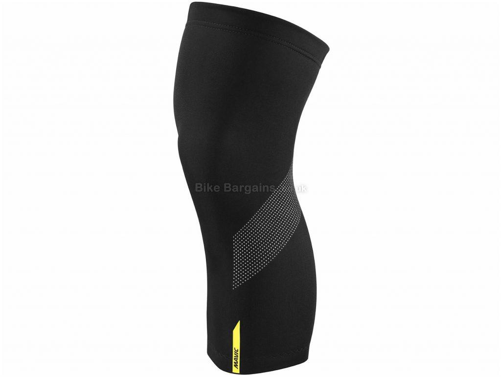 Mavic Cosmic H20 Knee Warmers XS, Black, Unisex, Polyester, Elastane