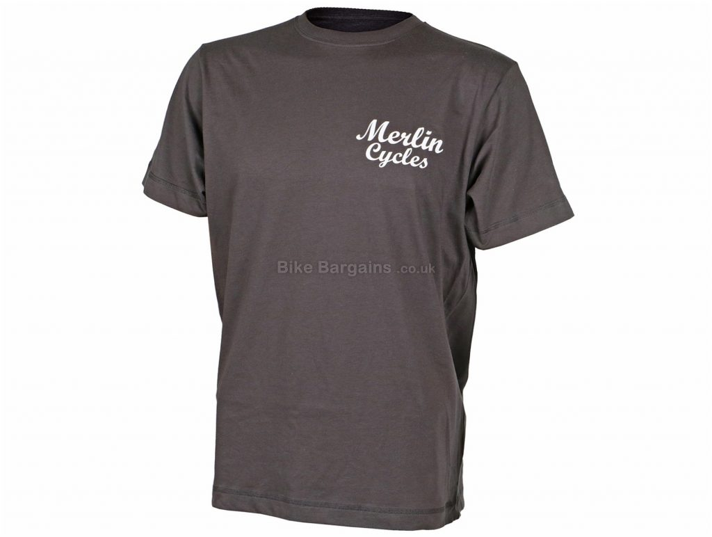 Merlin Classic T-Shirt S,M,L,XL, Grey, Men's, Short Sleeve, Cotton