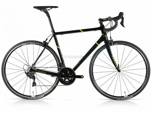 Merlin Nitro SL Ultegra Carbon Road Bike L, slightly scratched, Black, Yellow, 700c wheels, Carbon Frame, 22 Speed, Double Chainring, Caliper Brakes