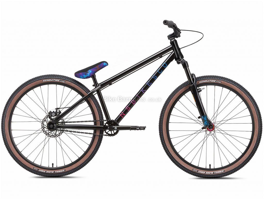"NS Bikes Metropolis 3 Alloy Dirt Jump Bike 2021 S, Black, Alloy Frame, Single Speed, Disc Brakes, 26"" Wheels, Single Chainring, Hardtail, 13.9kg"