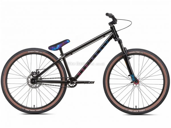 "NS Bikes Metropolis 3 Alloy Dirt Jump Bike 2021 S, Black, Alloy Frame, Single Speed, Disc Brakes, 26"" Wheels, Single Chainring, Hardtail, 13.9kg"