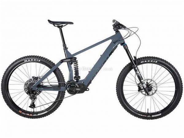 "Norco Range VLT C2 Carbon Full Suspension Electric Mountain Bike 2020 M, Blue, Black, Carbon Frame, 27.5"" Wheels, Full Suspension, Disc Brakes, Single Chainring, Men's, 12 Speed, 23.4kg"