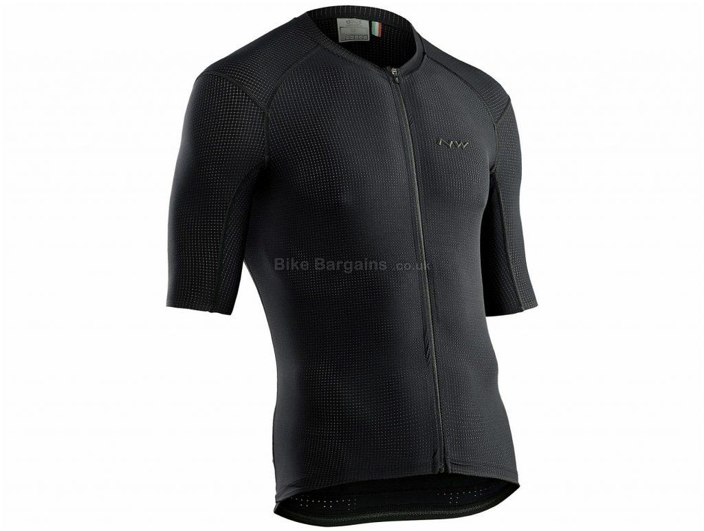 Northwave Stealth Short Sleeve Jersey M,L,XL,XXL, Red, Men's, Short Sleeve, Polyester, Elastane