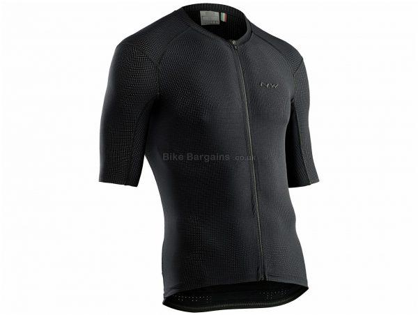 Northwave Stealth Short Sleeve Jersey XL, Red, Men's, Short Sleeve, Polyester, Elastane