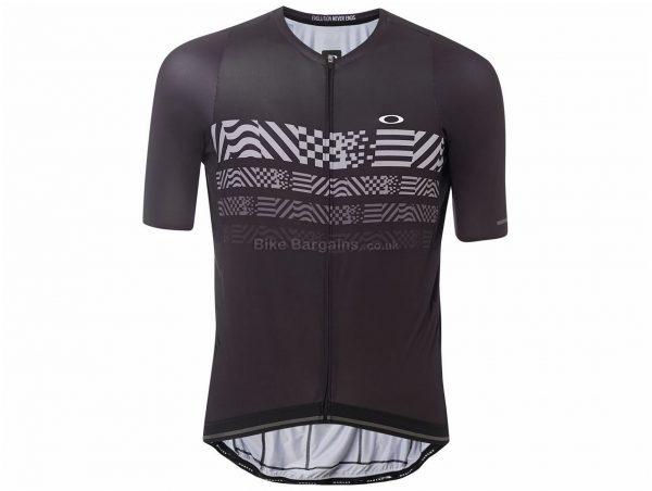 Oakley Endurance Short Sleeve Jersey XS, Red, Men's, Short Sleeve, Polyester, Elastane